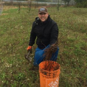 Matt Monkman-Pine River Tree Plant May 14, 2016